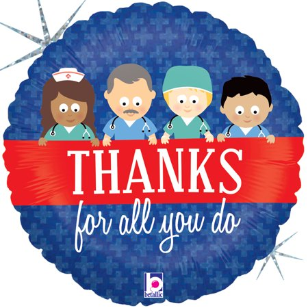 Thanks For All You Do Mylar Balloon - Thank You Balloon