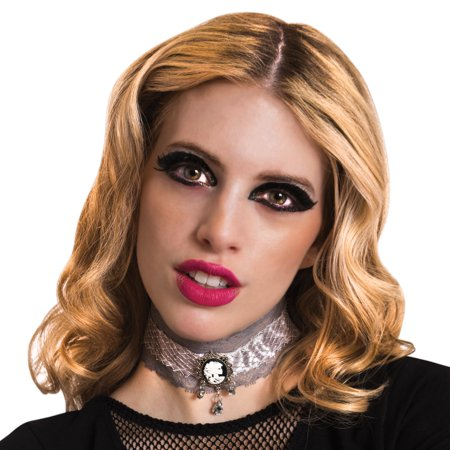 Halloween Dress up Accessories, Victorian Ghost lace choker - Live Halloween Ghost Hunt