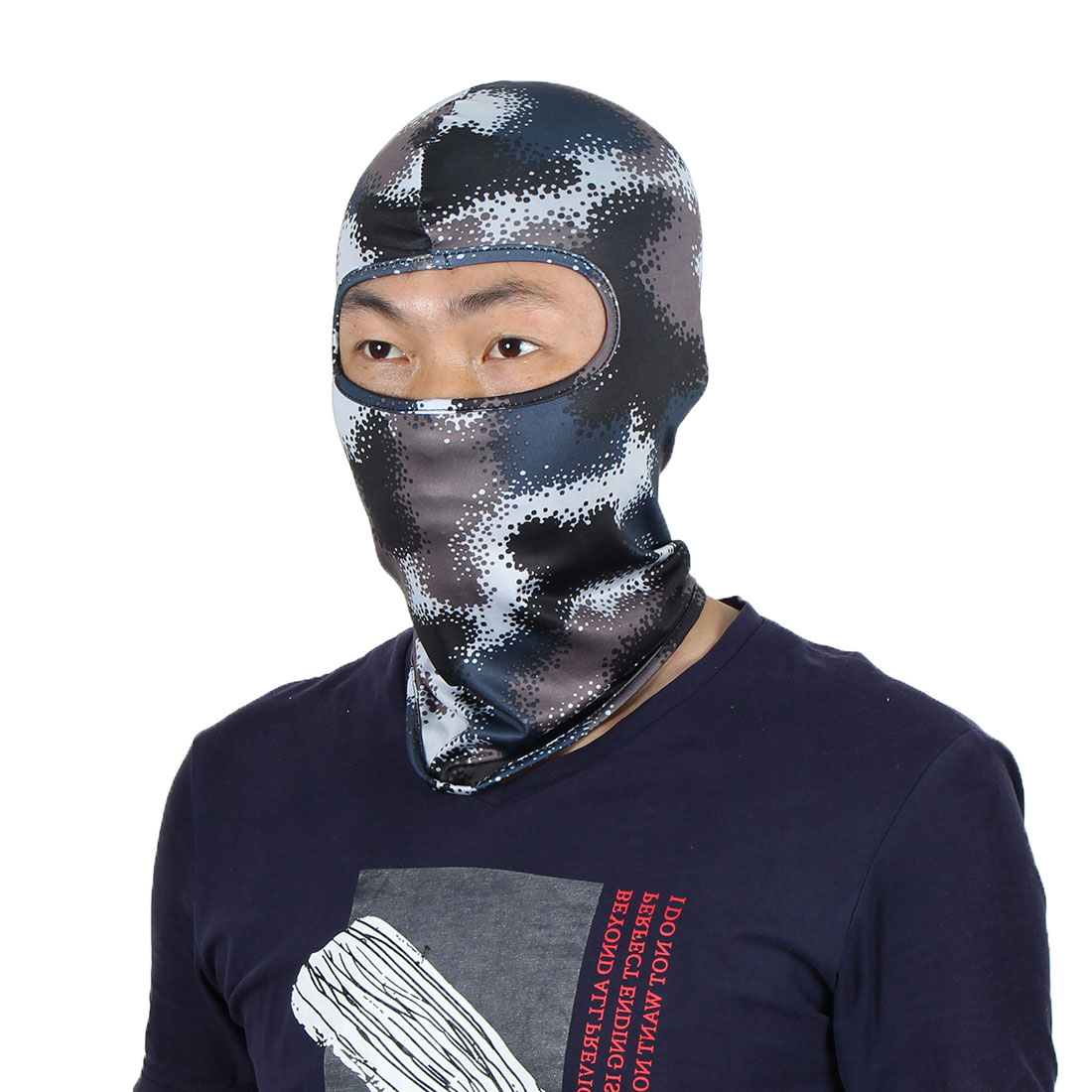 Full Coverage Face Mask Hunting Gel Padded Neck Protector Hood Helmet Balaclava by Unique-Bargains