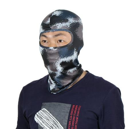 64953a03dc8 Full Coverage Face Mask Hunting Gel Padded Neck Protector Hood Helmet  Balaclava - Walmart.com