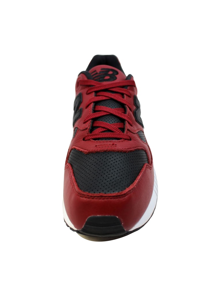 uk availability 2165b 00f1a New Balance - New Balance Men's 530 Lux Leather Red/Black ...