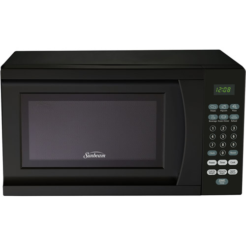 Sunbeam 0.7 cu ft Microwave Oven, Black