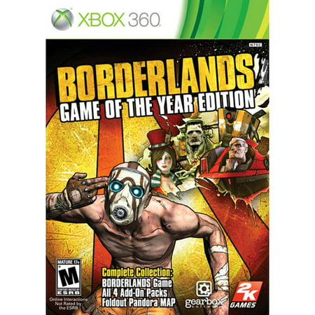 Take-Two Borderlands Game of the Year Edition - First Person Shooter - Retail - Xbox