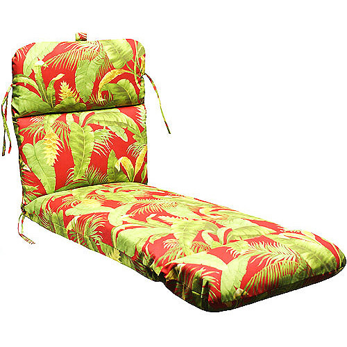 Jordan Manufacturing Deluxe Chaise Cushion, Multiple Patterns