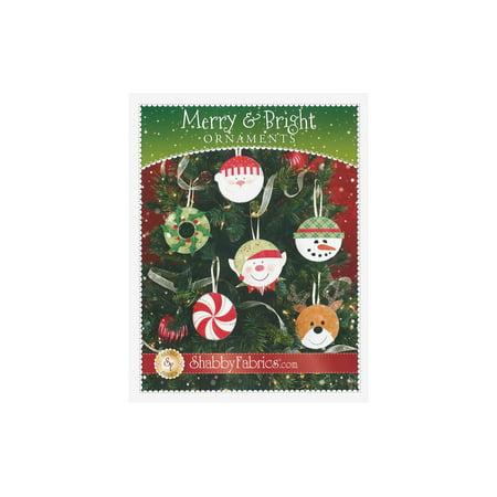 Shabby Fabrics Merry & Bright Ornaments Ptrn - image 1 de 1