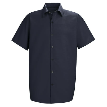 Men's Short Sleeve Specialized Pocketless Work Shirt ()