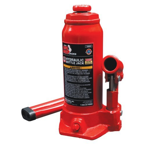 Torin Big Red T90603 6 Ton Hydraulic Bottle Jack