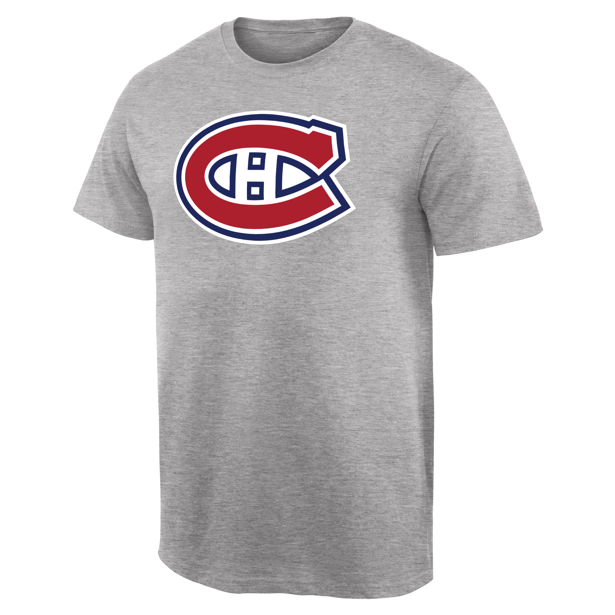 Montreal Canadiens Team Primary Logo T-Shirt - Ash