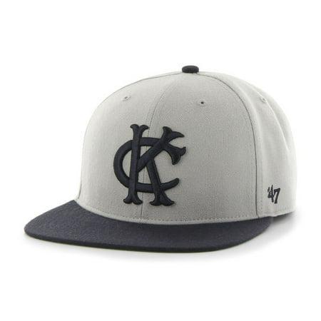 623d7ddc Kansas City Athletics 47 Brand Gray Two Tone Hole Shot Fitted Hat Cap -  Walmart.com