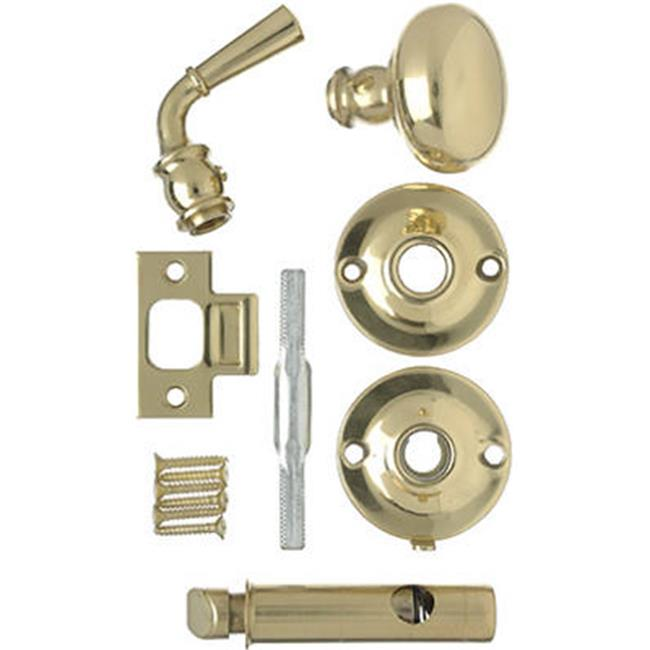 V2200BR Mortise Screen Door Knob Latch, Polished Brass - image 1 of 1