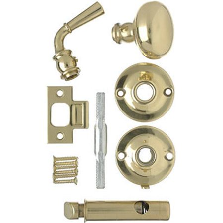 Wright Products V2200BR Mortise Screen Door Knob Latch, Polished Brass - image 1 de 1