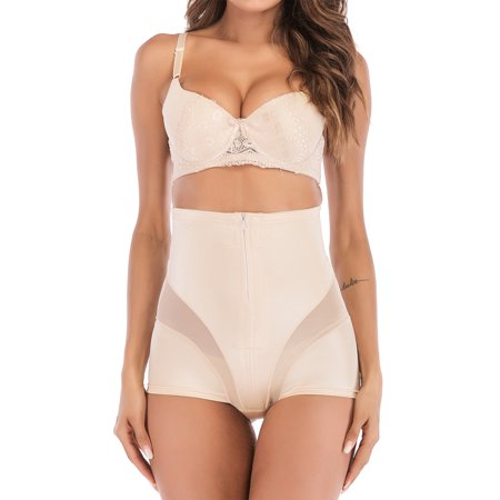 aa097570b5c SAYFUT - SAYFUT Women s High Waist Slip Shapewear Brief Control Tummy Panty  Underwear Body Shaper - Walmart.com