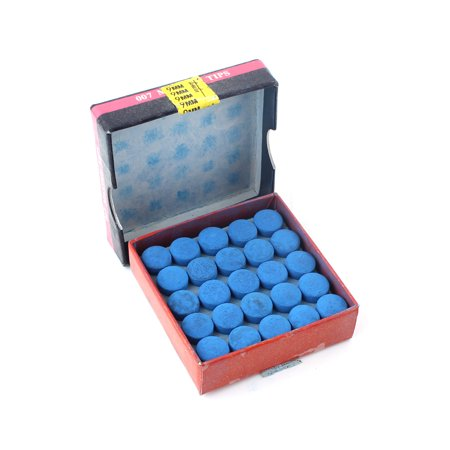 Box Of 50pcs Glue-on Pool Billiards Snooker Cue (Best Glue For Cue Tips)