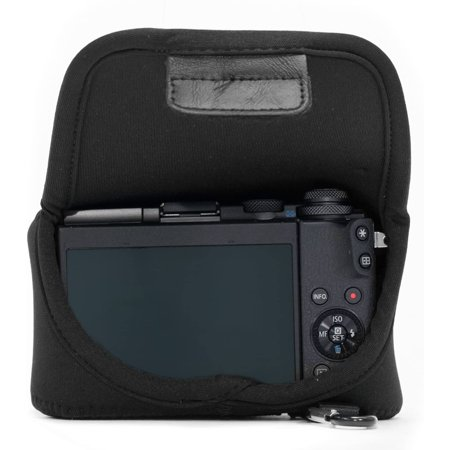 MegaGear MG510 Olympus PEN E-PL9, E-PL8, E-PL7 Ultra Light Neoprene Camera Case - Black - image 5 de 5