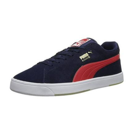 Puma Men's Suede S Fashion Sneaker Shoes, Blue & Green ()