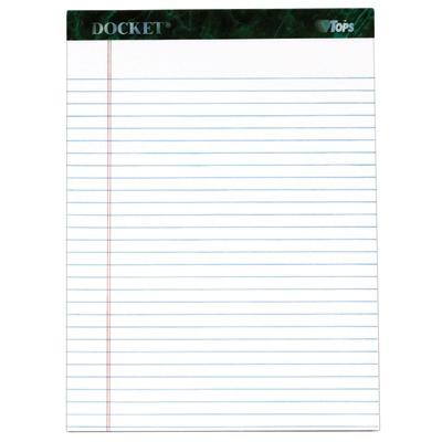 Docket Writing Tablet TOP63434