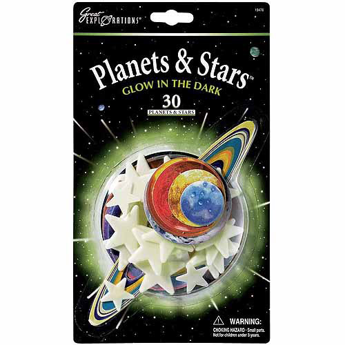 Glow-In-The-Dark Planets and Stars