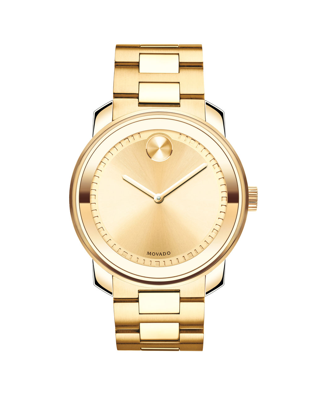 Movado Gold Bold Analog Watch 3600258