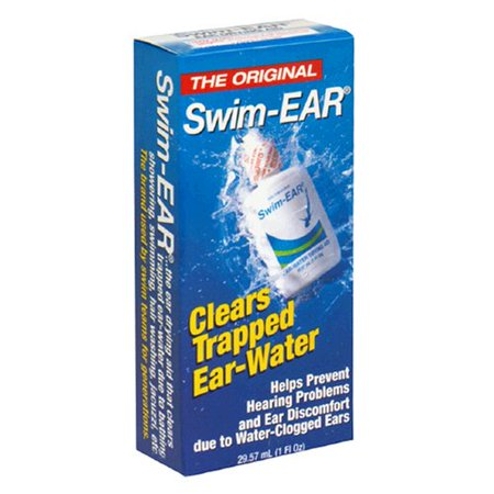 3 Pack - Swim Ear Ear-Water Drying Aid Drops 1oz (Drops To Get Water Out Of Ear)