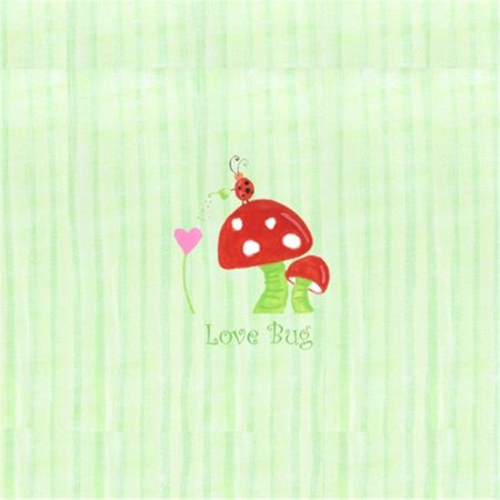 Little Acorn F13W08 Nickname Love bug Mushroom Wall Art - image 1 of 1