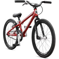Mongoose Title Micro Expert BMX Race Bike, 20-Inch Wheels, Beginners to Intermediate Riders, Lightweight Aluminum Frame, Internal Cable Routing