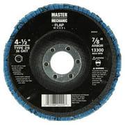 Disston 890852 4 x 0.62 in. 36 Grit Master Mechanic Flap Disc