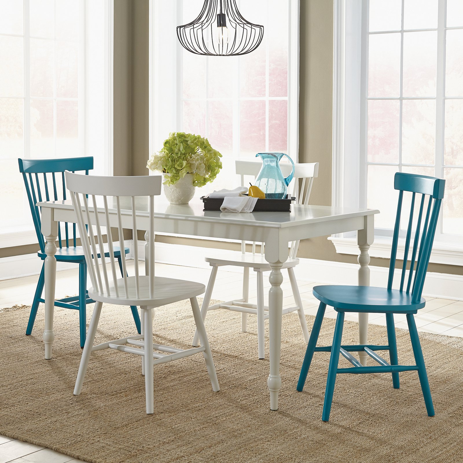 Superbe Sauder Cottage Road 5 Piece Dining Table Set   Walmart.com