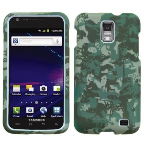 Insten Lizzo Digital Camo/Green Phone Case for SAMSUNG: i727 (Galaxy S II Skyrocket)