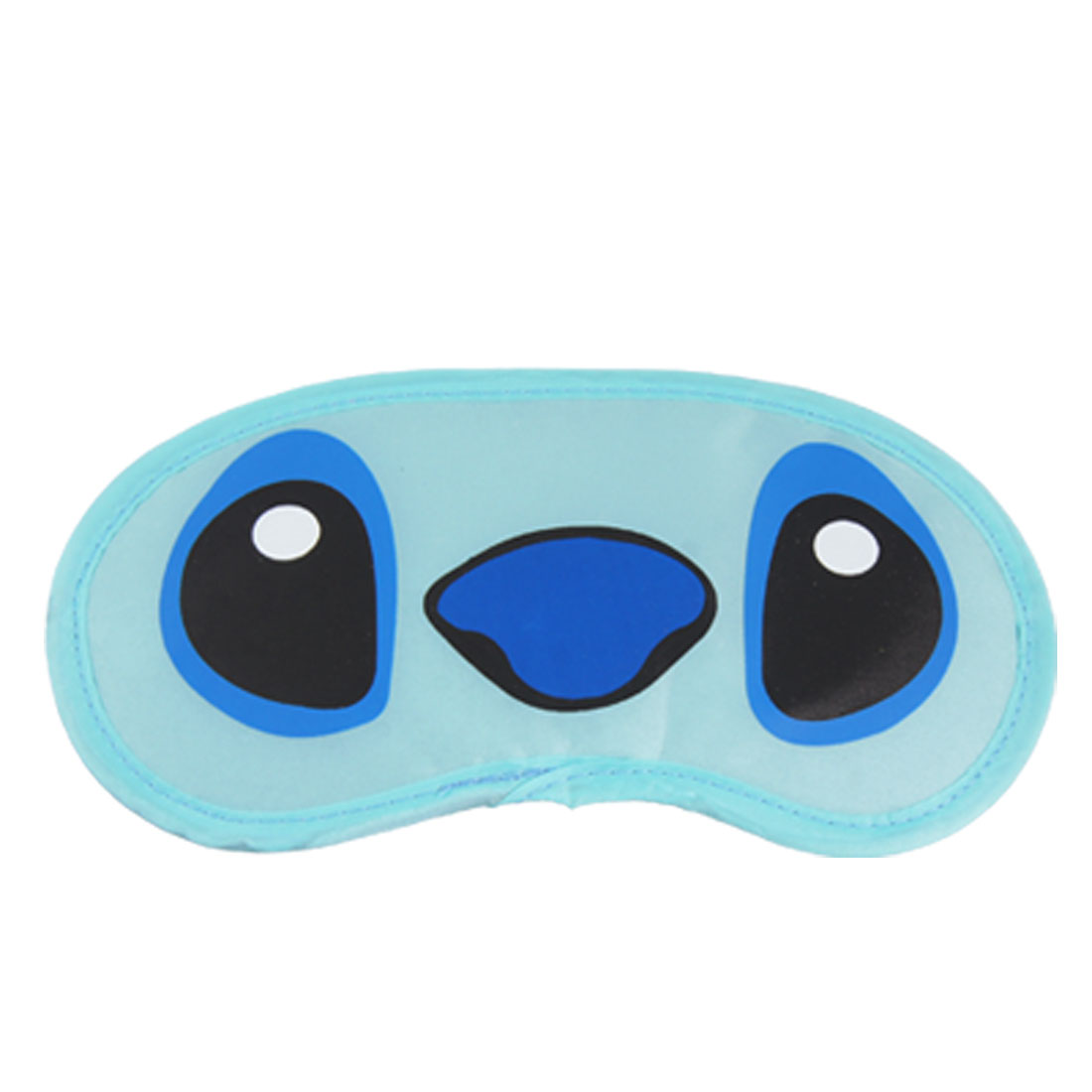 Unique Bargains 2 Pcs Sleeping Eyes Mask Cover Travel Home Use Eyepatch Blue