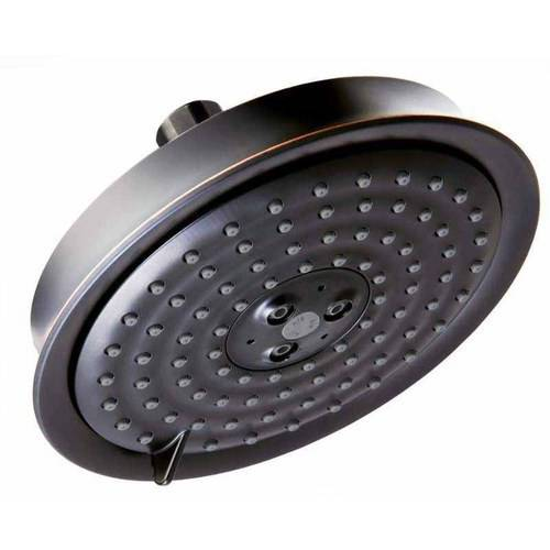 """Hansgrohe 28471921 Raindance C Shower Head Only Multi-Function with 6"""" Spray Face, Various Colors"""