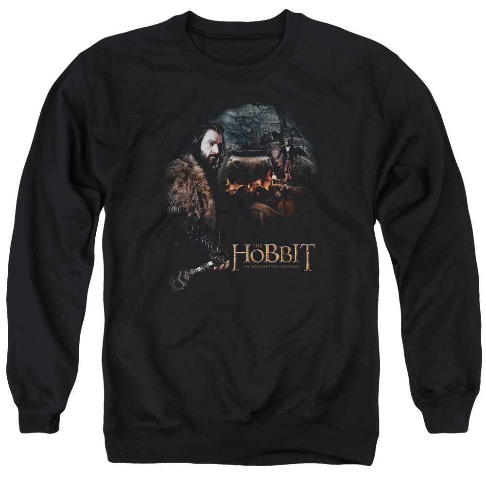 The Hobbit Cauldron Mens Crewneck Sweatshirt