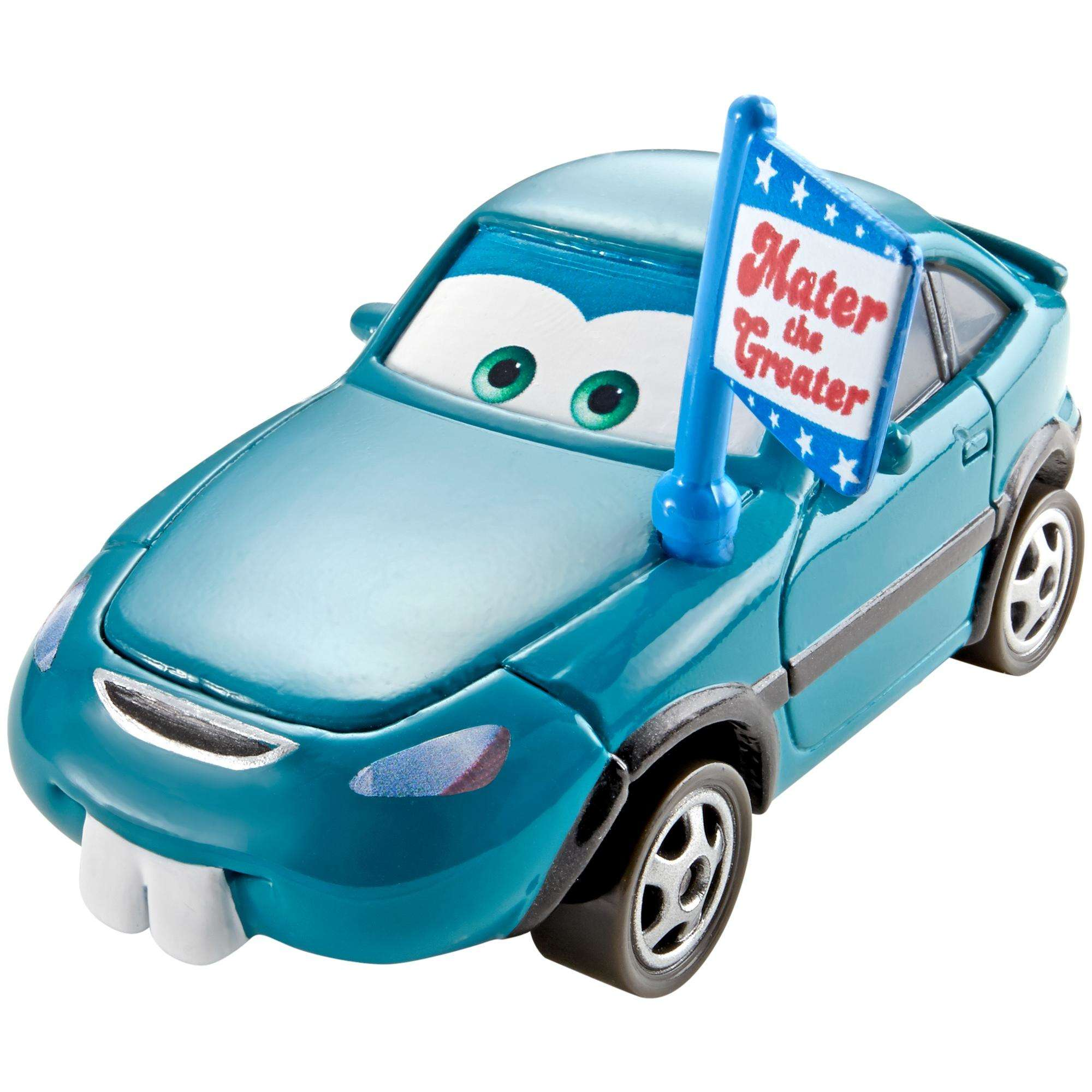 Disney Pixar Cars Mater The Greater Blue Fan In The Stands