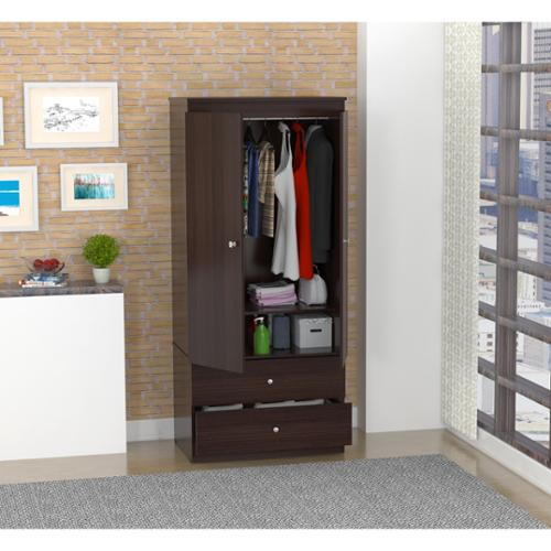 Inval America LLC Inval Espresso-Wenge Finish Storage Armoire