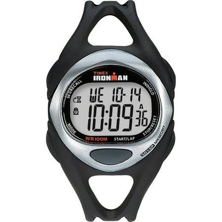 100 Lap Flix Watch - CORPORATION IRONMAN TRIATHLON 50 LAP FUL SIZE BLACK/STAINLESS T54281