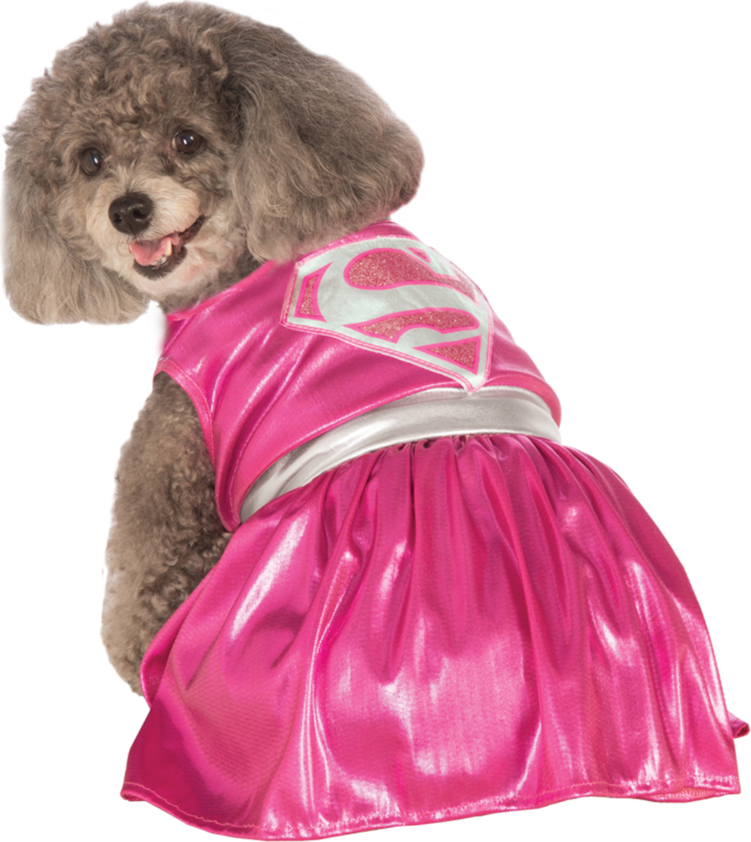 Morris costumes RU887839XL Pet Costume Pink Supergirl Xlg