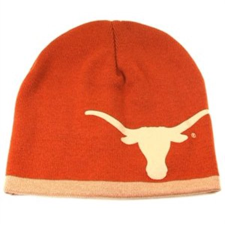 Texas Longhorn Hats (Texas Longhorns NCAA D-Cone Uncuffed Orange Winter Knit Hat Cap Beanie)