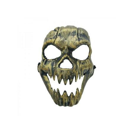 Ghost Face Halloween Mask (Horror Ghost Face Mask Halloween Skull Skeleton Masquerade Cosplay)