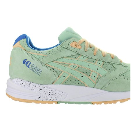new product 0a074 9920d Mens Asics Gel Saga Easter Pack Smoke Green White Blue H6A0L-7474