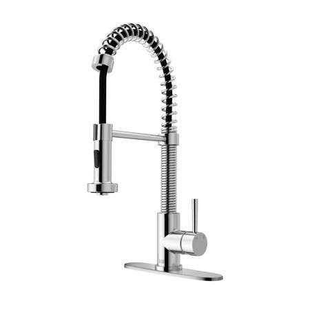 Vigo Pull-Out Spray Kitchen Faucet with Deck (Faucets Deck)