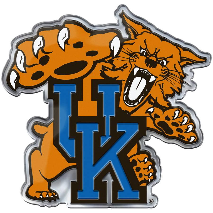 NCAA Kentucky Wildcats Alternative Color Bling Emblem