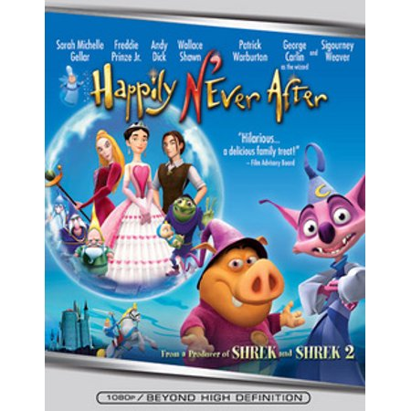 Happily N'Ever After (Blu-ray) (Ever After High Movie)