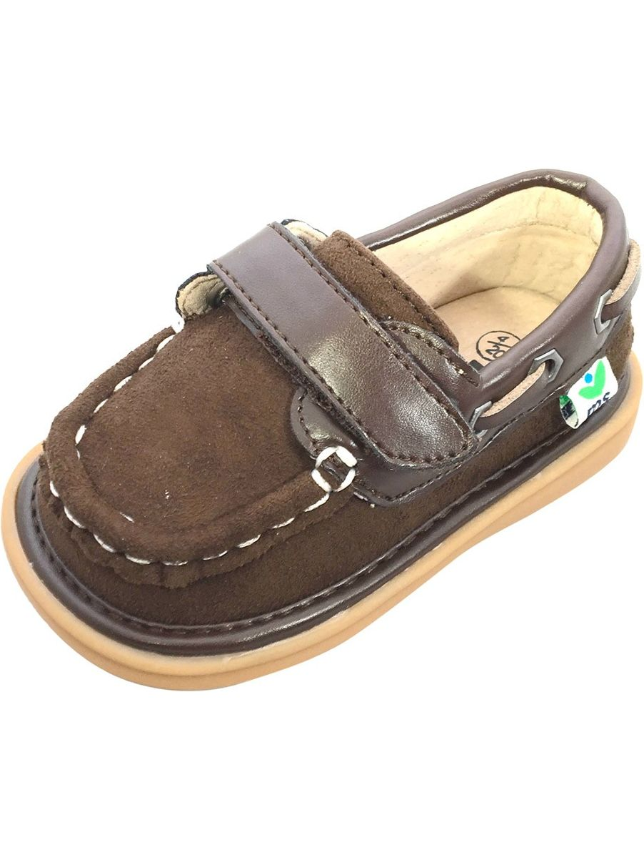 mooshu trainers little boys chocolate boat sawyer squeaky shoes