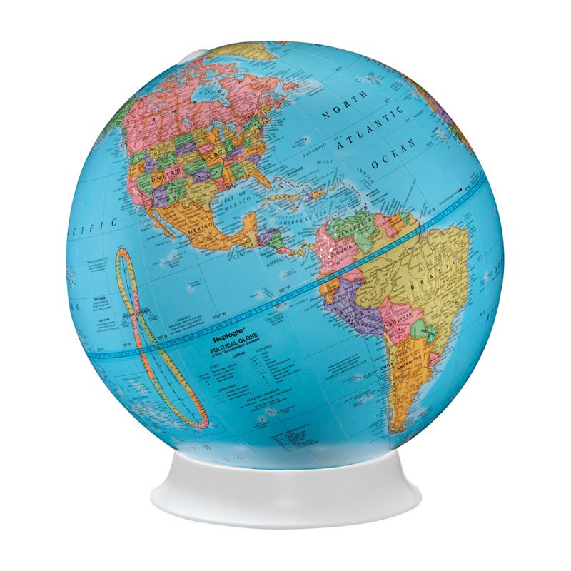 Replogle Apollo 9 in. Tabletop Globe