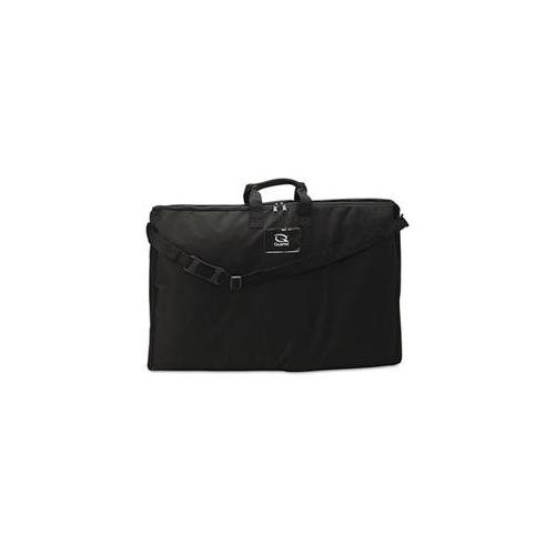 Quartet 156366 Tabletop Display Carrying Case  Canvas  12 x 2-1/2 x 12  Black