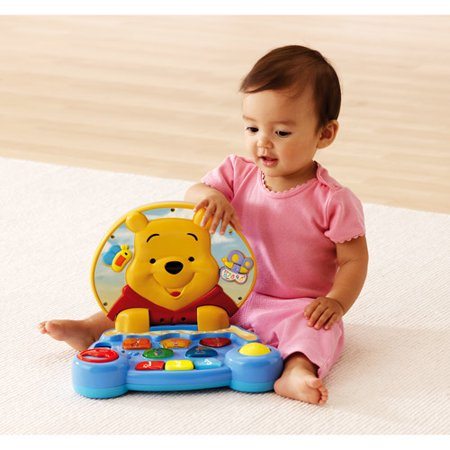 VTech Winnie the Pooh Play and Learn Laptop - thetoyshop.com