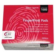"""Lee Inkless Fingerprint Pad - 2.3"""" X 1.8"""" - Black Ink (03127)"""