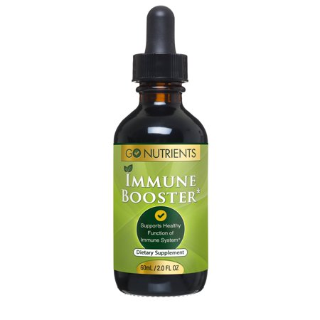 - Immune Booster - All Natural Immunity Support Supplement - 2 oz