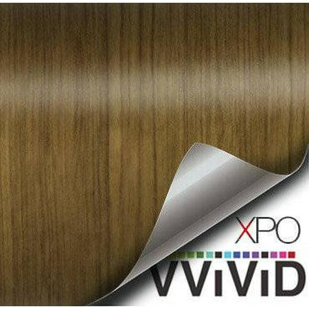 Teak Wood Grain Faux Finish Textured Vinyl Sticker Architectural Vinyl Adhesive Tile Wall Decor Decal VViViD