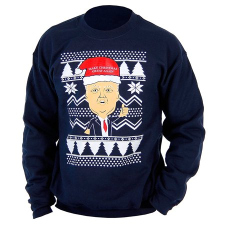 Donald Trump Make Christmas Great Again Ugly Sweatshirt