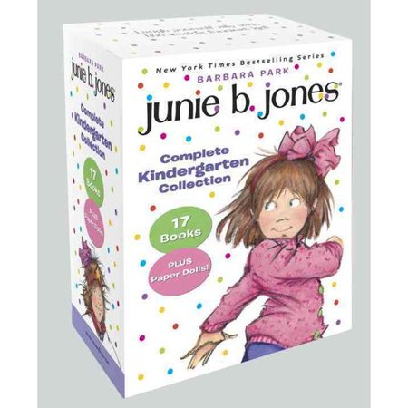 Junie B. Jones Complete Kindergarten Collection: Books 1-17 With Paper Dolls in Boxed Set by